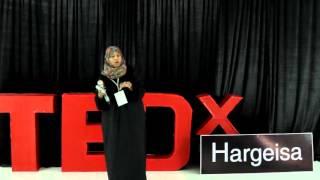 Volunteering For a Better Life | Farha Abdirahman Yousef | TEDxHargeisa