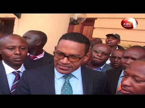 Kidero loose his bid to be enjoined in petition challenging Sonko's win