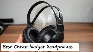 Best Cheap budget headphones shp1900 SPL dB test + quick review