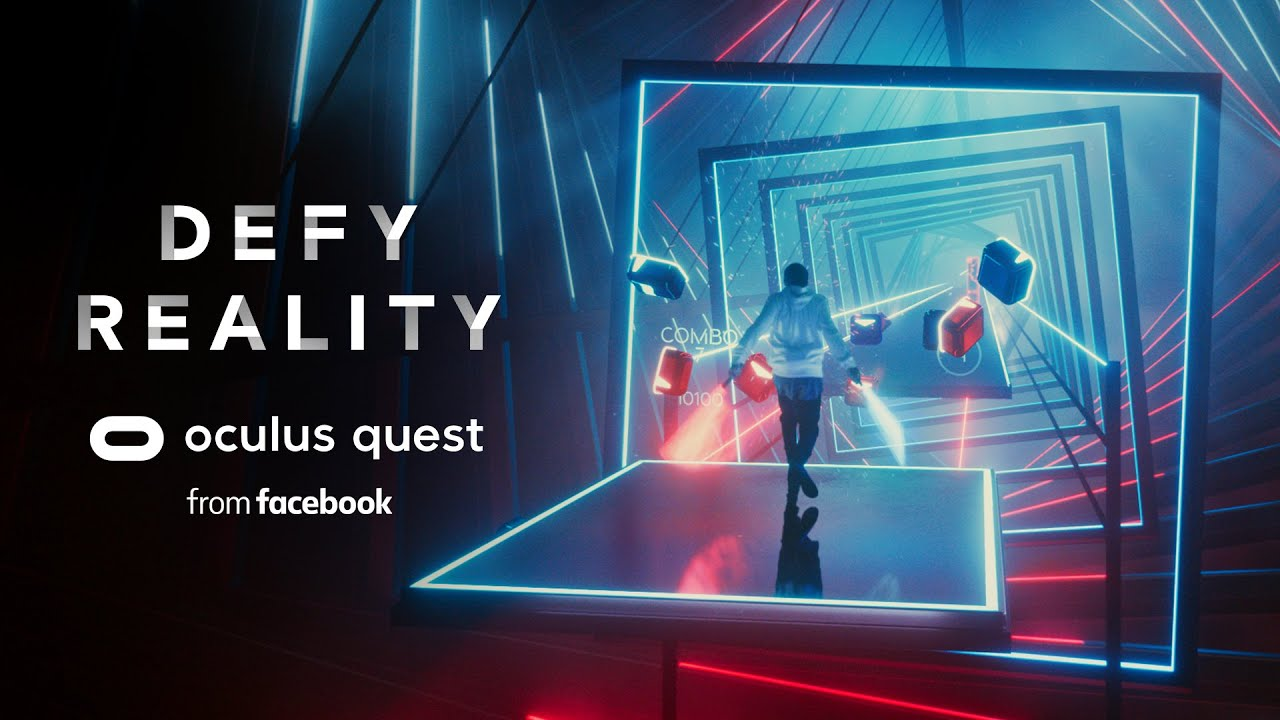Defy Reality | Oculus Quest | Beat Saber - YouTube