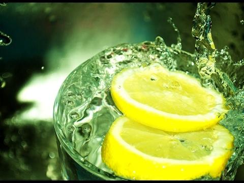 Вода с лимоном на ночь для похудения