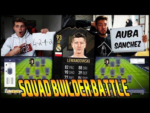LEWANDOWSKI Real Madrid Transfer SQUAD BUILDER BATTLE vs. Wakez! ⚽🔥 Fifa 18 Ultimate Team Deutsch