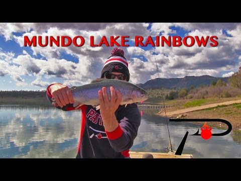 Trout Fishing New Mexico's Mundo Lake