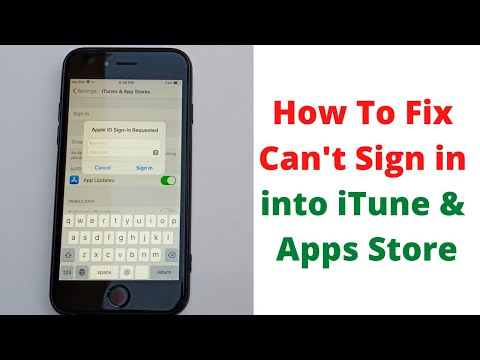 How To Fix Cant Sign Into Itunes & App Store On Iphone And Ipad After Ios 13