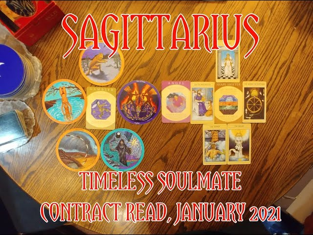 SAGITTARIUS: TIMELESS ROMANTIC SOULMATE READ = A GAMBLER & A SHAPE-SHIFTER CONTRACT = JANUARY 2021