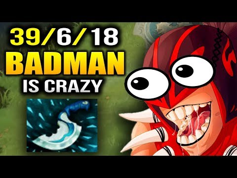 Badman Bloodseeker GONE CRAZY with 39 Kills in 30 Minutes Dota 2 thumbnail