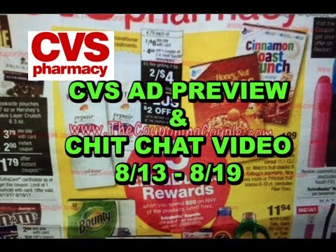 CVS AD PRREVIEW:  8/13 - 8/19 | MONEYMAKER...