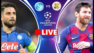European champions league - the second leg of last 16 will bring barcelona to host napoli. vs napoli duel take place ...