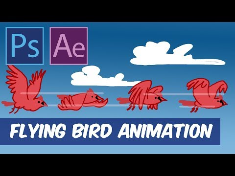 Creating a Frame-By-Frame Looping Animation Using Photoshop and After Effects