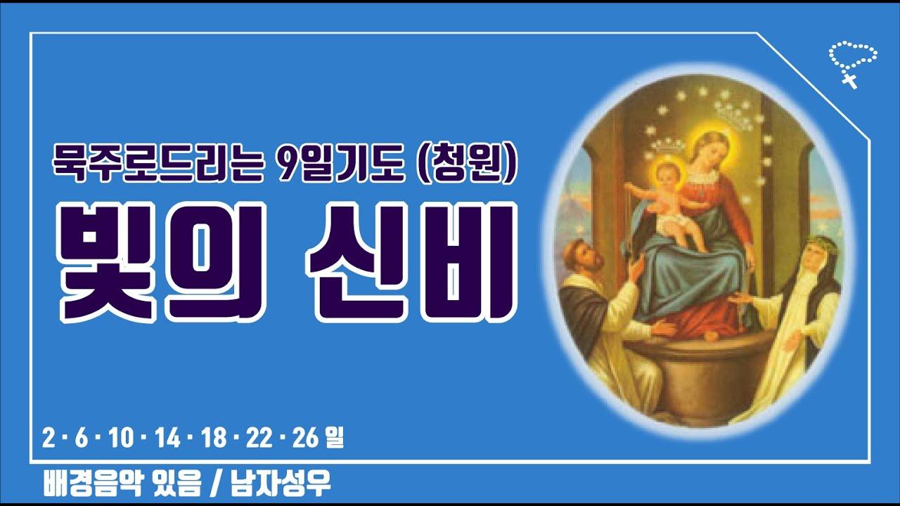 [묵주로 드리는 9일기도] 빛의 신비 (청원기도, 남자성우)