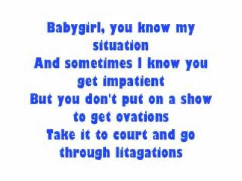 Fabolous Cant Let You Go Lyrics Youtube