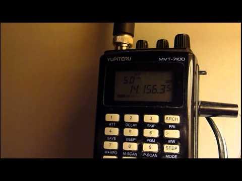 Radio Amateurs; Kuwait Speaks To USA Heard From Irvine, Ayrshire, Scotland On 20 Meters (2sep2012)