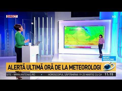 Cod roșu de vânt și ninsori în Europa. România se confruntă cu temperaturi extrem de scăzute