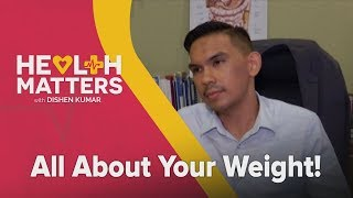 Dr Saifullah as featured on Health Matters with Dishen Kumar: All About Your Weight!