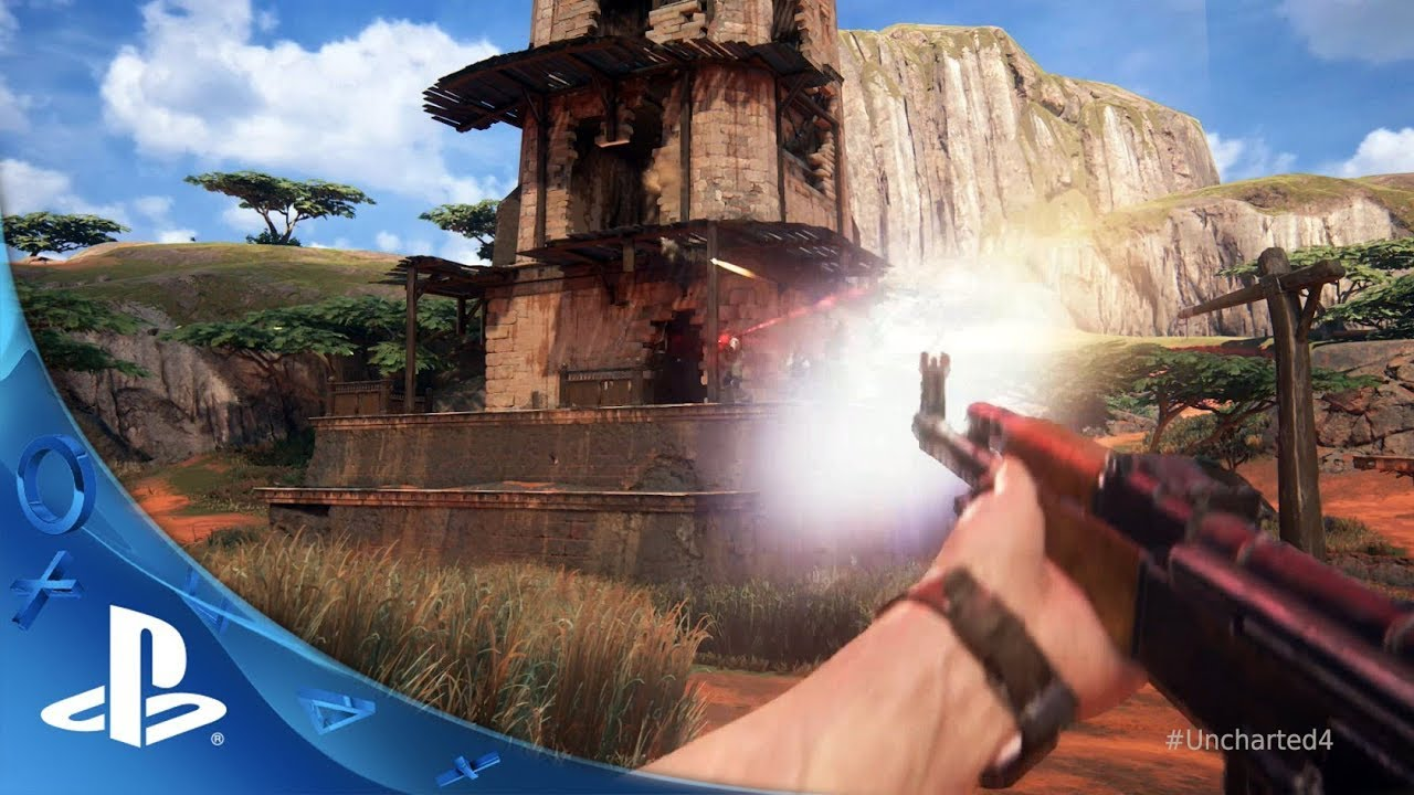 Uncharted 4 Trailer in First Person (Mod)