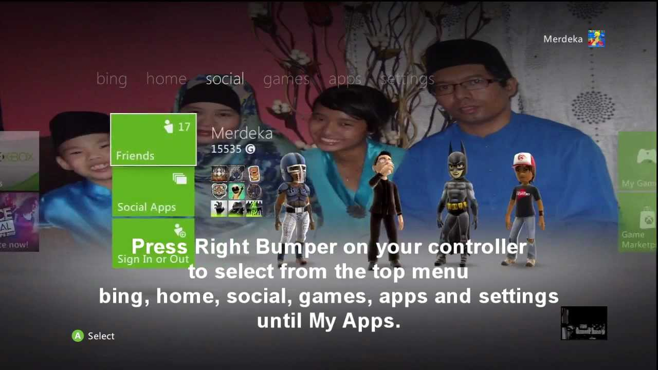 how to change the wallpaper on the new xbox 360 dashboard - youtube
