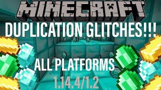 Minecraft item duplication glitch