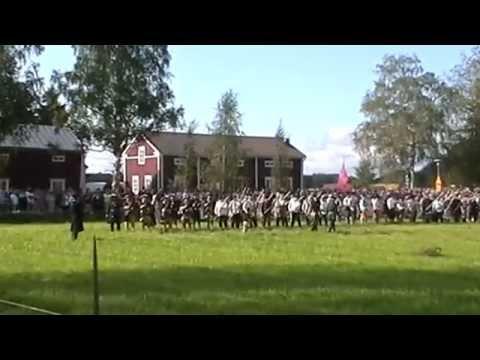 Napuen taistelun 300v juhla 9.8.2014 Isokyrö