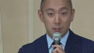 市川海老蔵さんが会見 妻・小林麻央さんは「乳がん」(2016年6月9日) thumbnail