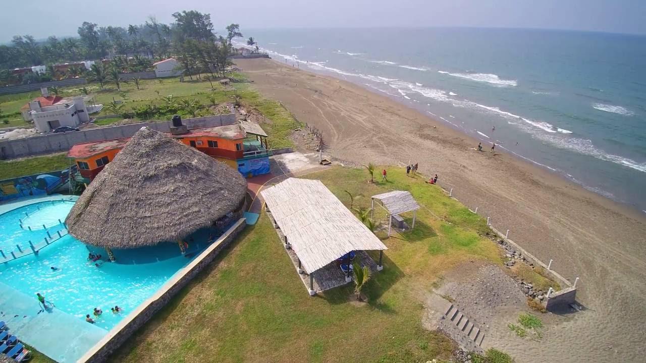 Costa esmeralda hotel costa azul youtube for Casitas veracruz