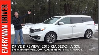 Review: 2016 Kia Sedona on Everyman Driver