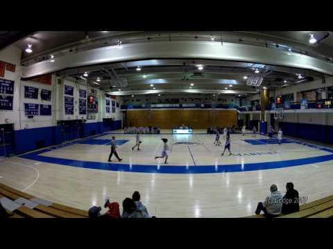 Herricks HS Girls Varsity Basketball vs Long Beach HS 01/28/17 GoPro Edition