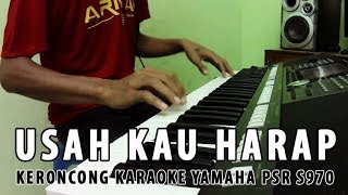 Usah Kau Harap Lagi - versi Keroncong Karaoke