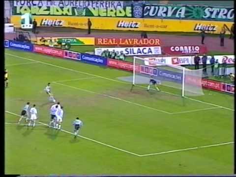 Sporting - 4 x Farense - 1 de 2001/2002 Taça de Portugal 5Elim
