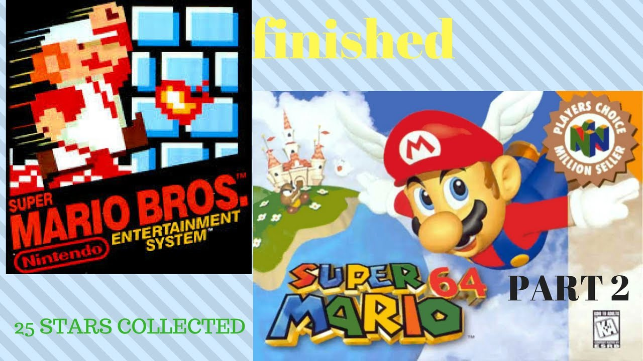Beating most super Mario games in random order part 2