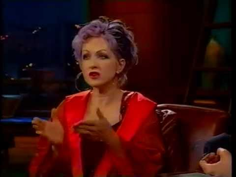 Cyndi Lauper on Craig Kilborn  2000