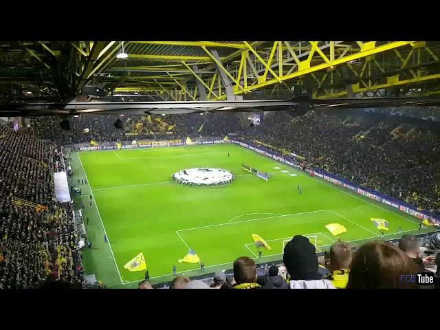 2018-2019 - Dortmund-Club Brugge - Champions League Hymne (bis)