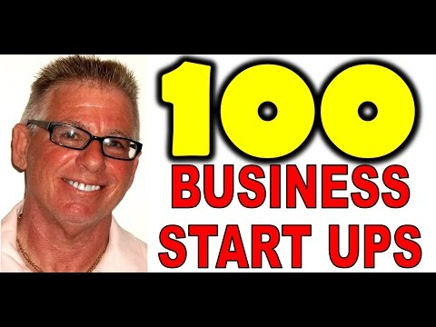 100 Start Your Own Business Ideas for 2016