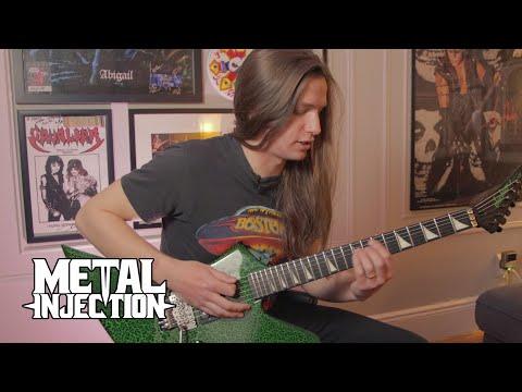 "THE BLACK DAHLIA MURDER's Brandon Ellis ""The Riffs That Taught Me"" | Metal Injection"