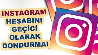Instagram Hesabımı Geçici Olarak Kapatma, Instagram Profil Dondurma