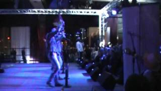 A few minutes of the Village People's performance at MBLV and a YMC...