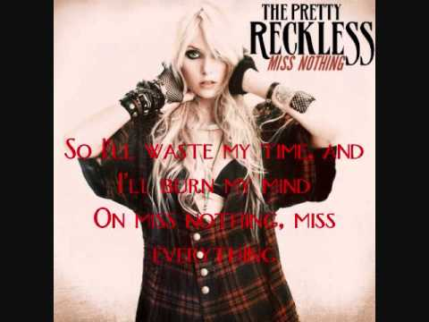 Miss Nothing By The Pretty Reckless (Karaoke w/ Vocals)