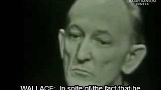 Major Donald Keyhoe Part 1 of 3 Mike Wallace Interview 3/8/1958