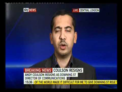 Mehdi Hasan and John Rentoul discuss Andy Coulson on Sky News