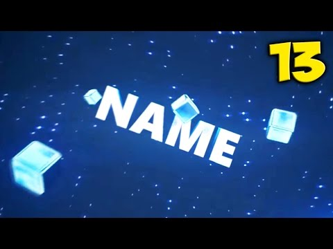 TOP 10 BLUE Intro Template #13 Cinema 4D & After Effects + Free Download