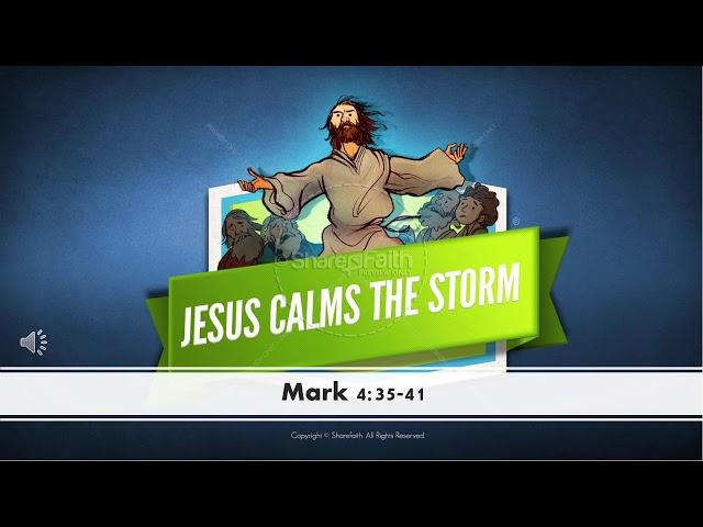 Teacher Adam-Jesus calms the storm