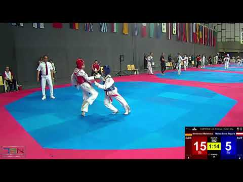 502  Mateo Sena Segura, AUT vs  Mohamad Mahmoud, GER 6 31