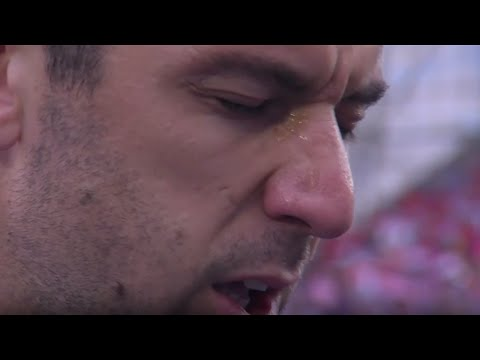 Darijo Srna in tears during National Anthem