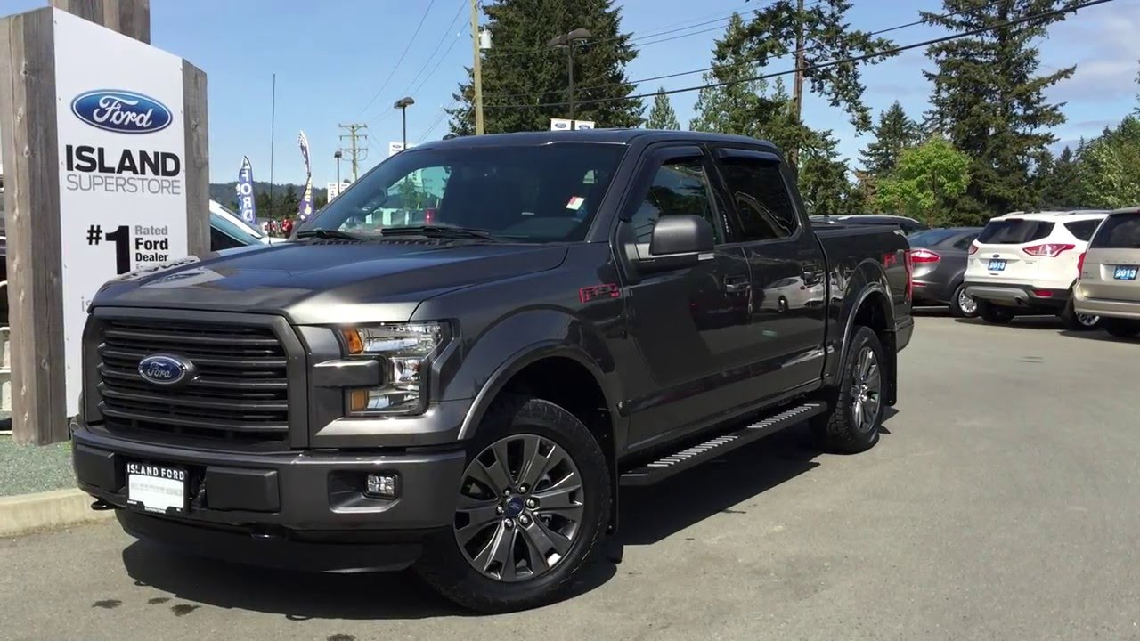 2016 ford f 150 xlt fx4 special edition sport pkg supercrew 4x4 review island ford youtube. Black Bedroom Furniture Sets. Home Design Ideas