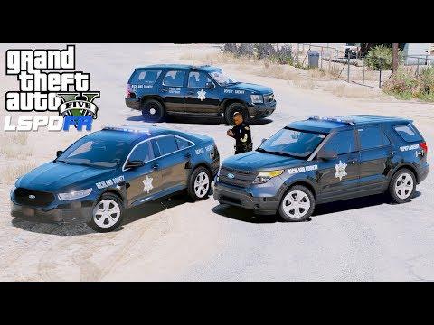 GTA 5 LSPDFR Police Mod #603 Richland County Sheriff Patrol - LivePD Live Stream