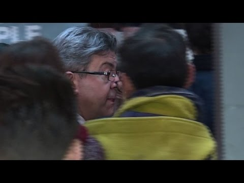 France vote: far-left candidate Melenchon out in first round