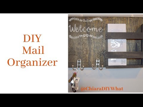 How to: DIY Mail Organizer