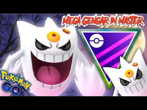 Shiny Best Buddy Mega Gengar in Master League PVP for Pokemon GO || All you need is the Fast Move
