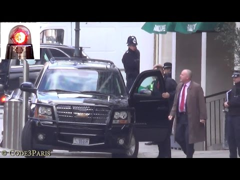 Secret Service Behind the scenes (Waiting for Obama) London 2016