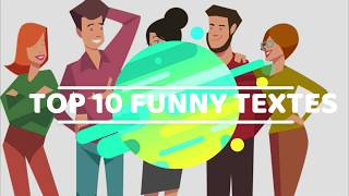 TOP 10 FUNNY Texts | funny text messages to send