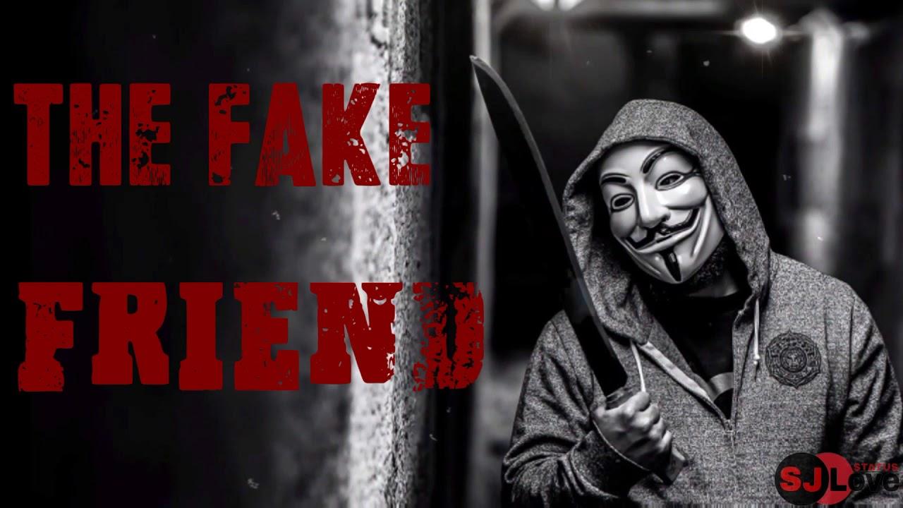 Fake Friends - Whatsapp Status Video - YouTube